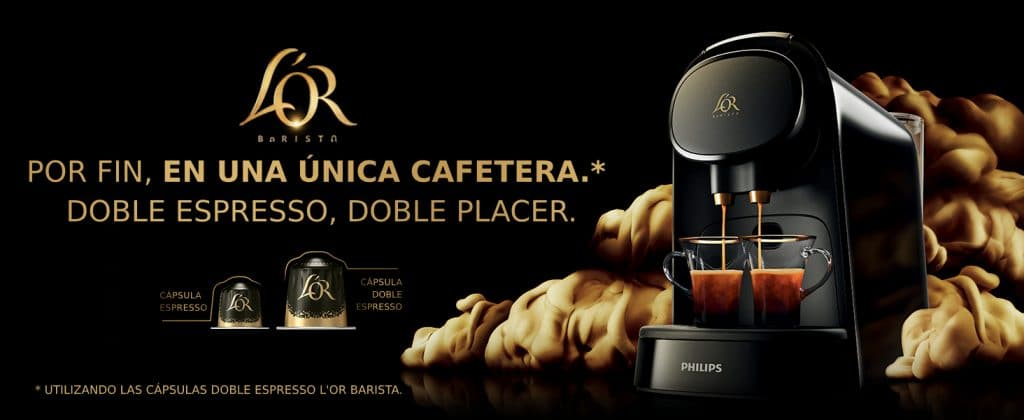 Cafeteras Philips L'Or Barista
